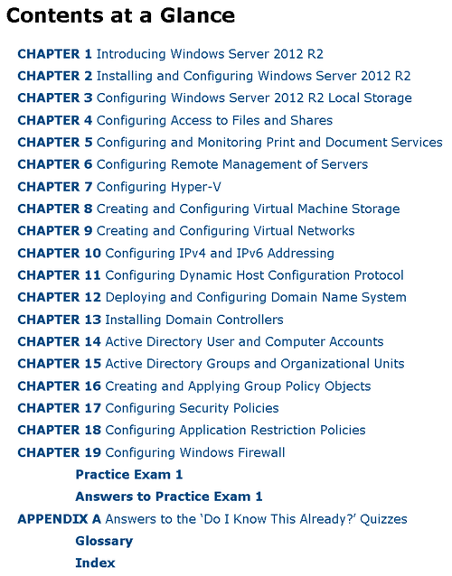 Index of MCSA 70-410 Cert Guide - Installing and Configuring Windows Server 2012 R2